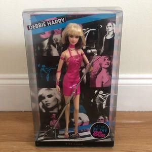 Debbie Harry pink label Barbie doll in box